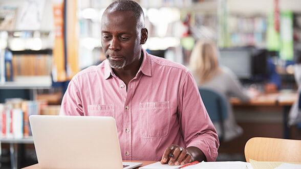 Lifelong learner explores Michigan Online