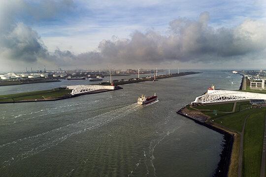 Floodgates in Rotterdam