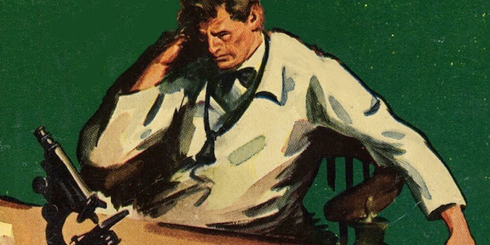 Graphic from Arrowsmith Book cover