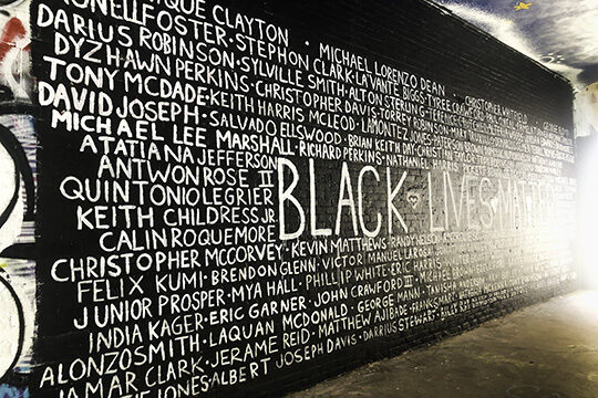 The wall of names