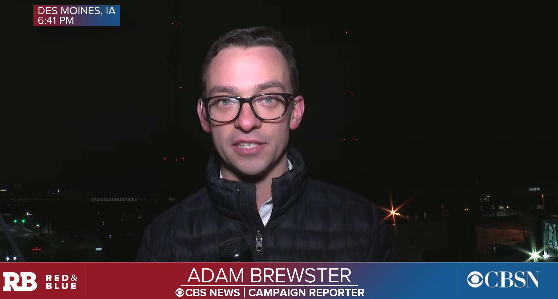 Adam Brewster, BA '12