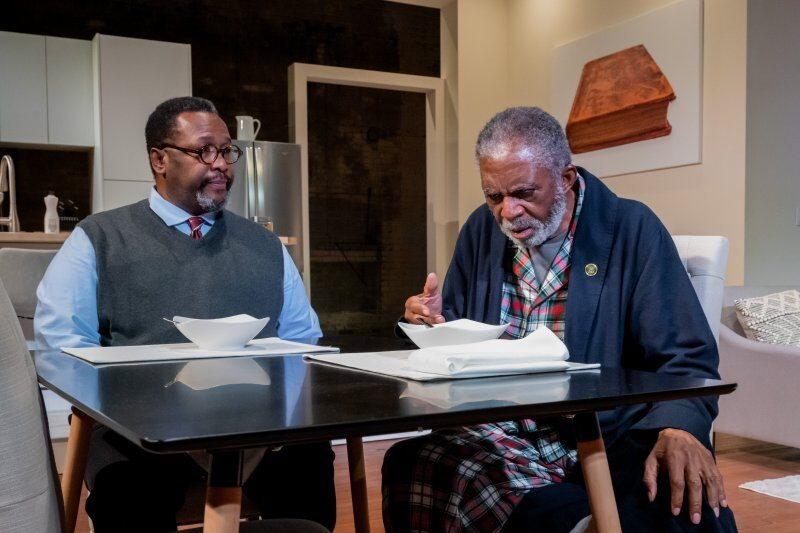 Wendell Pierce and Charlie Robinson, Some Old Black Man