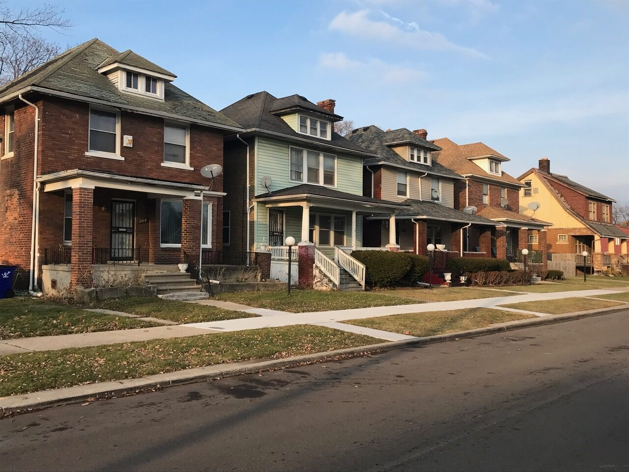 Low income housing in Detroit