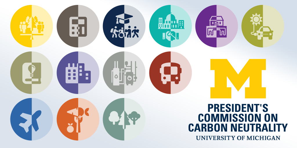 Carbon neutrality graphic